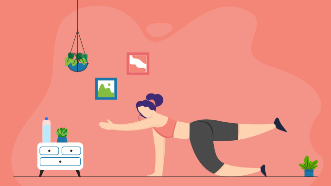 A Quick And Effective Work From Home Workout Routine To Stay Fit