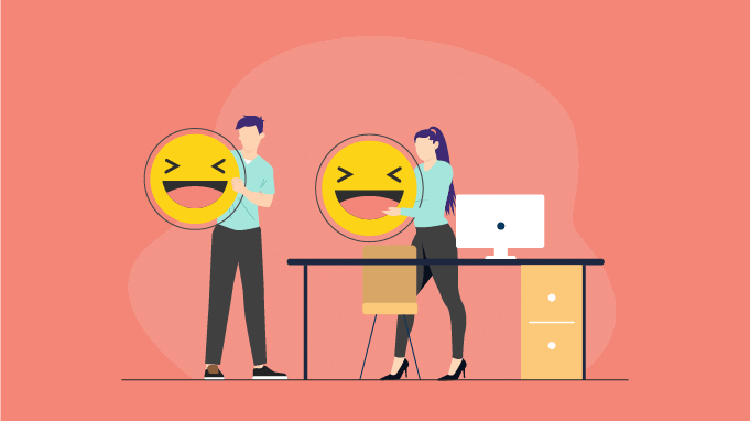 5 Top Benefits of Laughing At Work (+Useful How To's)