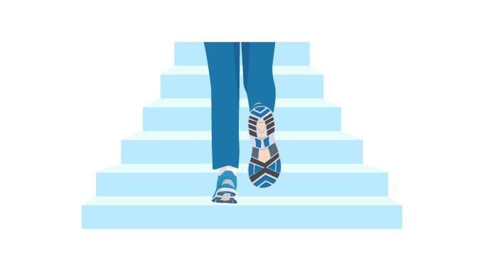 Stair-climbing-challenge