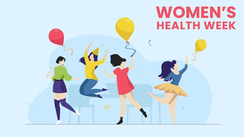 Ways to celebrate Women's Health Week at Work