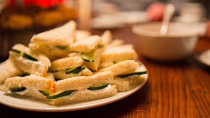 cucumber- sandwich